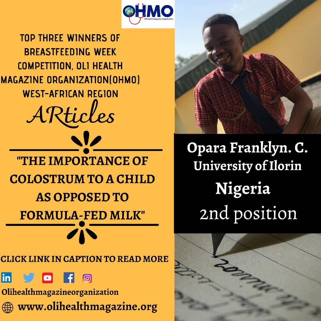 CONGRATULATIONS TO OPARA FRANKLYN. C.