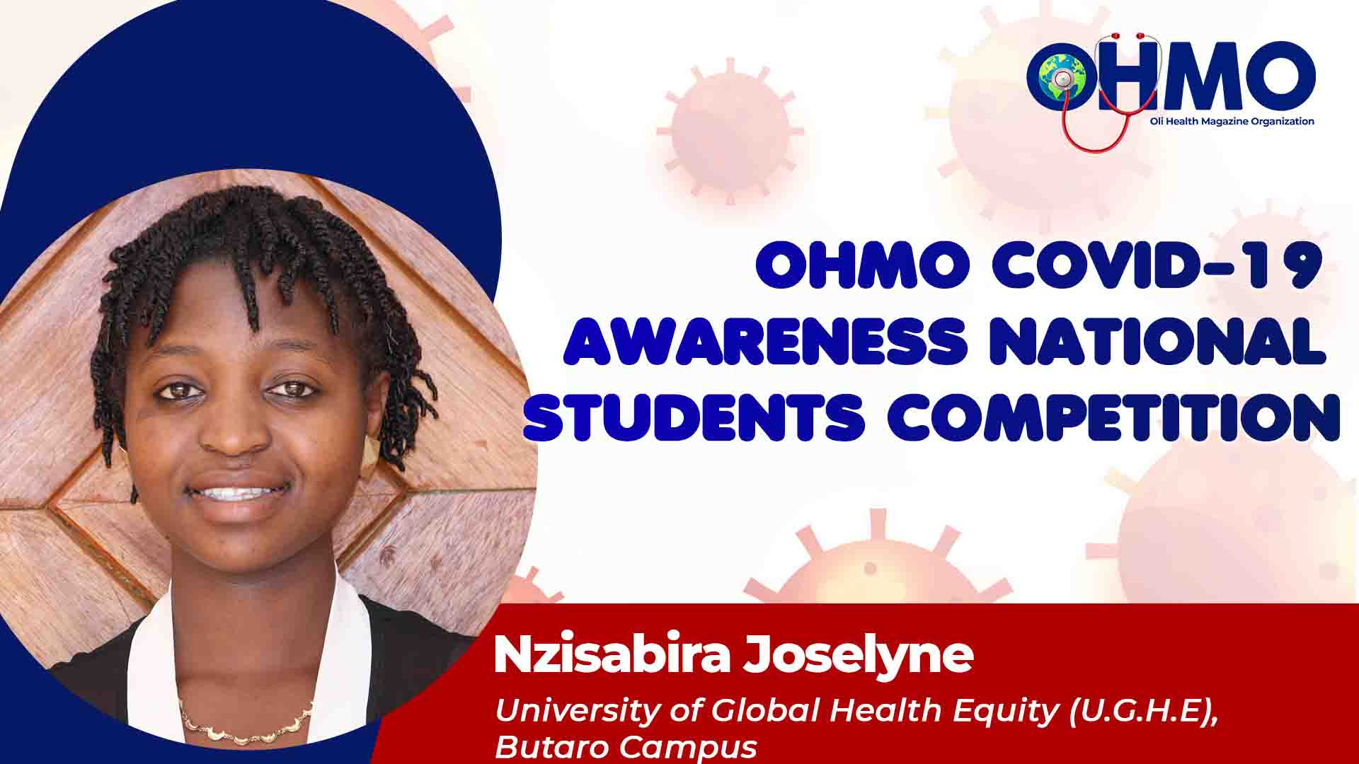 Mental Health Crisis during COVID-19: A Voice of Medical Practitioners to Be Heard - Nzisabira Joselyne from UGHE (ENTRY 38)