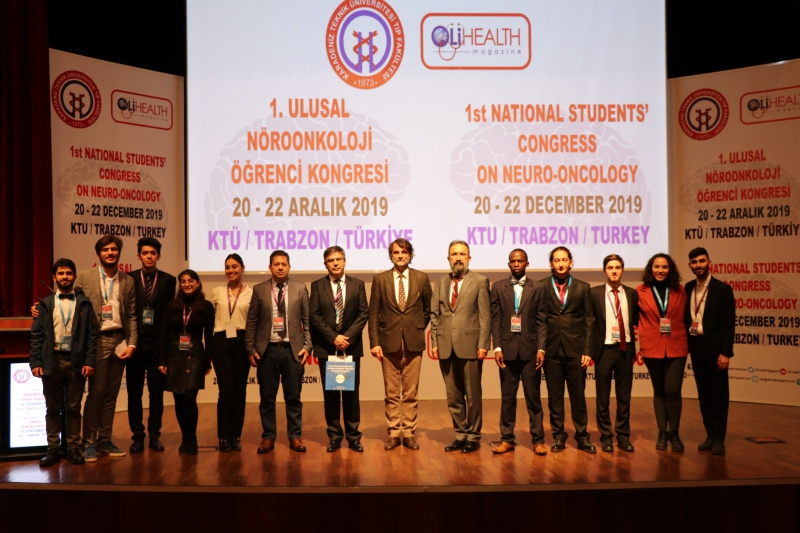 The 1st National Students' Congress on Neuro-Oncology on 20 - 22 December 2019