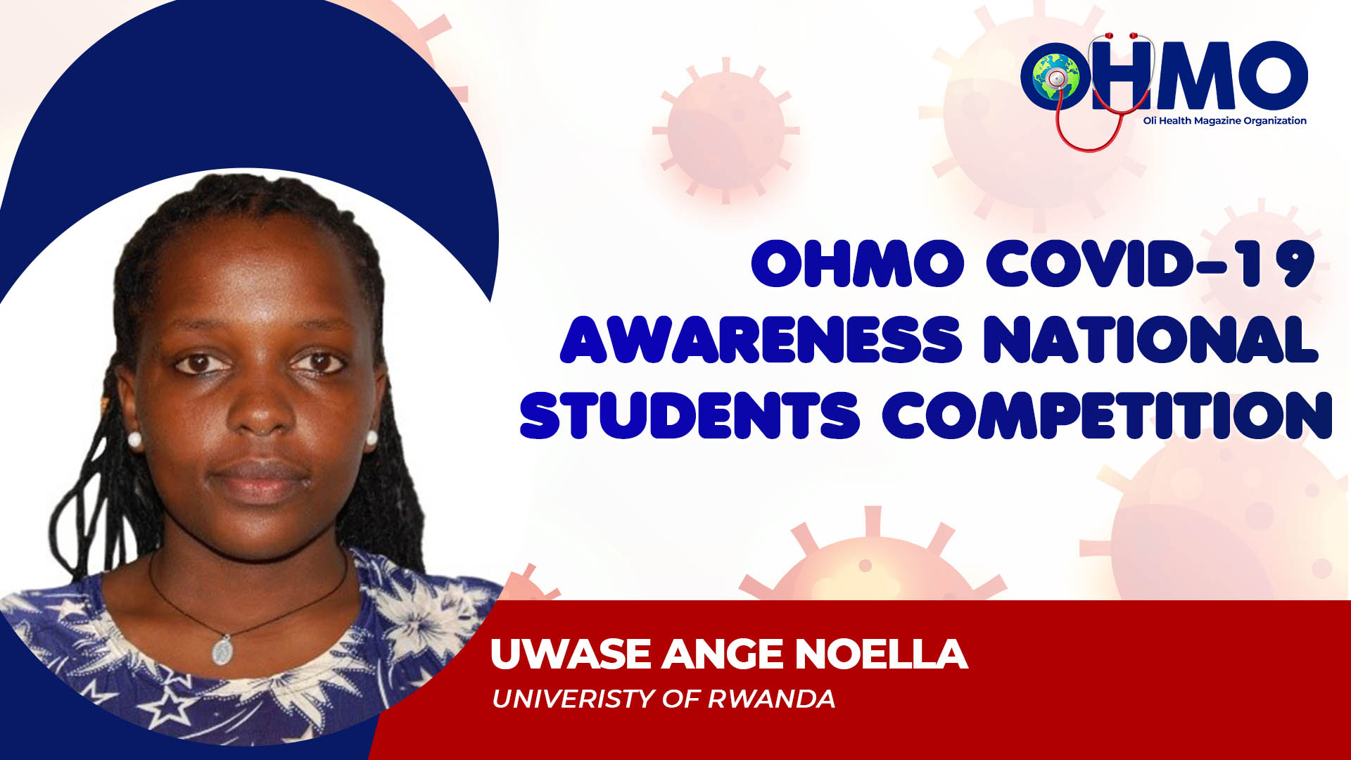 Coronavirus Disease, Self Care, Mental Health And Coping With The Pandemic - UWASE ANGE NOELLA from University of Rwanda (ENTRY 52)