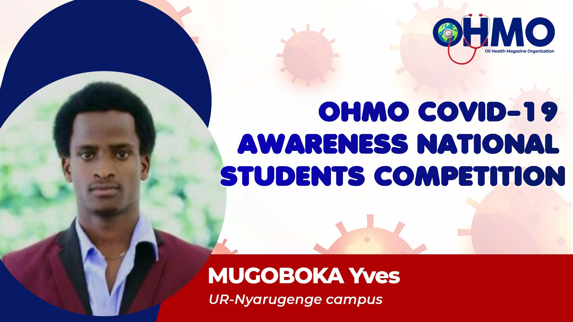 Mitigation to Take a Stand Against COVID-19 - MUGOBOKA Yves from UR (ENTRY 55)